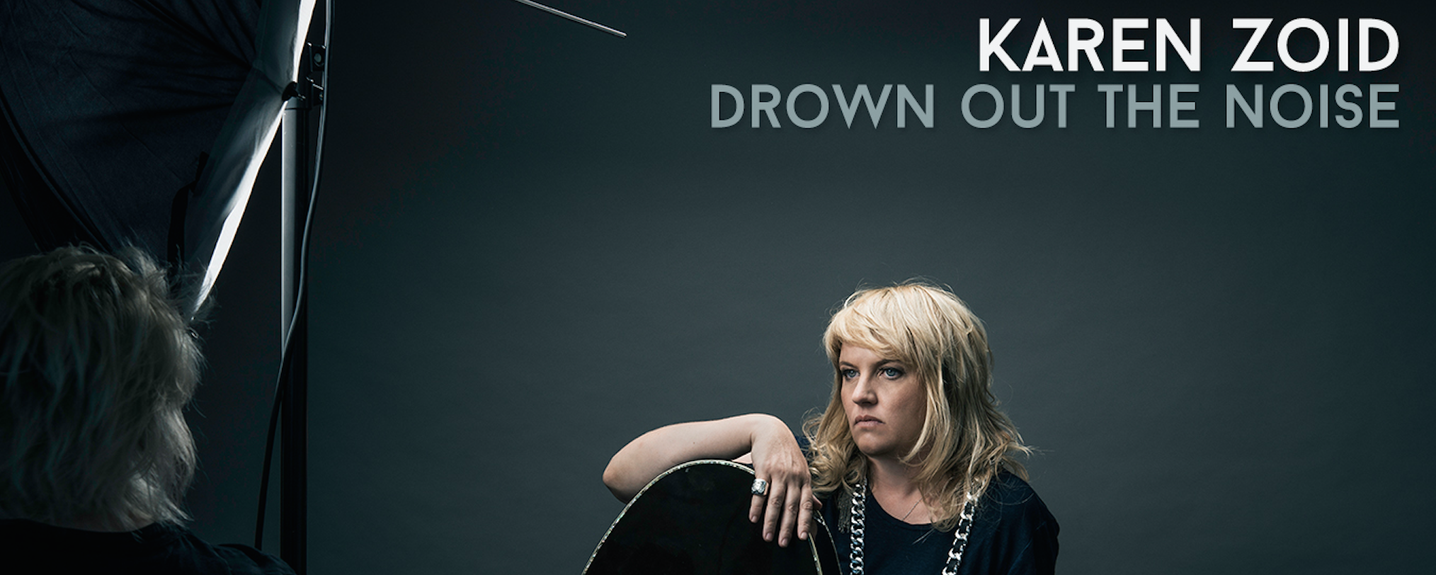 Karen zoid releases new album titled drown out the noise