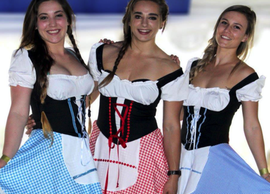 Experience an authentic Oktoberfest without travelling to Germany.